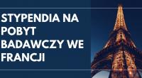 Ambasada Francji w Polsce przyznaje stypendia na pobyt badawczy we Francji dla naukowców pracujących w polskiej instytucji naukowej, którzy w 2020 r. chcą spędzić od jednego do trzech miesięcy we […]