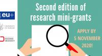 """Druga edycja konkursu na minigranty dla międzyuczelnianych zespołów naukowych w ramach Sojuszu 4EU+ została otwarta. Minigranty będą finansowane z projektu """"Inicjatywa doskonałości – uczelnia badawcza"""". Wnioski należy składać do 5 […]"""
